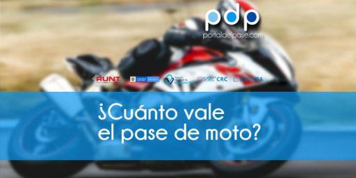 precio del pase de moto colombia