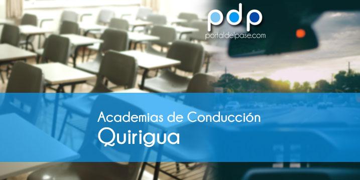 academias de conduccion en Quirigua