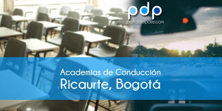 academias de conduccion en Ricaurte, Bogotá