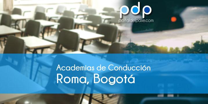 academias de conduccion en Roma, Bogotá