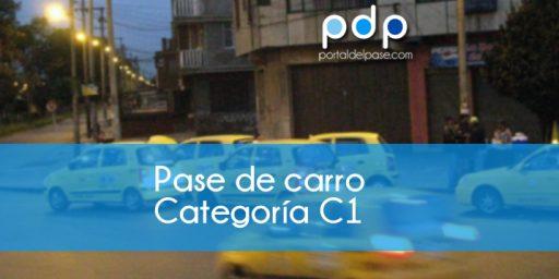 categoria del pase c1