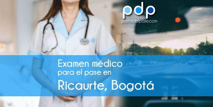 examen medico para el pase en Ricaurte, Bogotá
