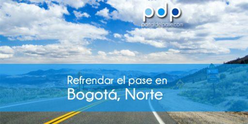 refrendar el pase en Bogotá Norte